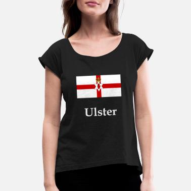 Ulster Ulster Flag - Women's Rolled Sleeve T-Shirt