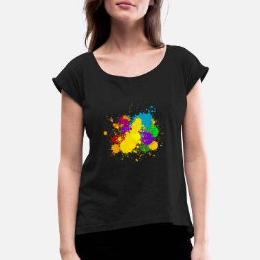Inking ink - Women's Rolled Sleeve T-Shirt