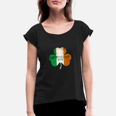 Letterkenny Ireland - Women's Rolled Sleeve T-Shirt
