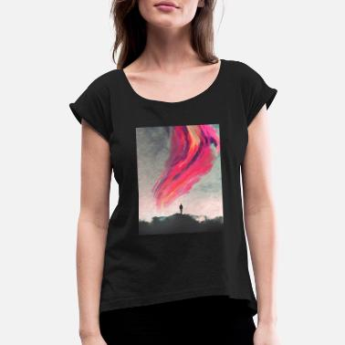 Scifi scifi - Women's Rolled Sleeve T-Shirt