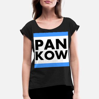 Pankow Pankow Germany Berlin T Shirt - Women's Roll Cuff T-Shirt