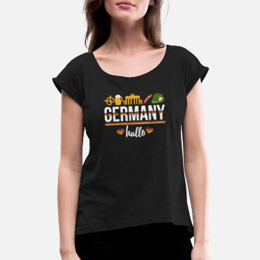Germany Germany Gift - Women's Rolled Sleeve T-Shirt