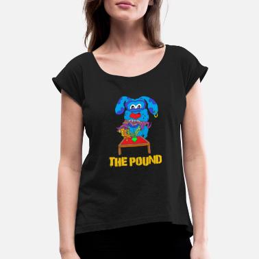 Food Chain at The Pound - Women's Roll Cuff T-Shirt