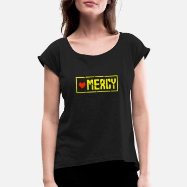 Mercy Undertale Undertale Mercy T shirt - Women's Roll Cuff T-Shirt