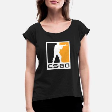 Cs CS GO - Women's Rolled Sleeve T-Shirt