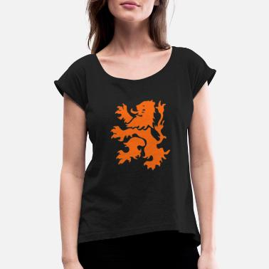 Lion Rampant - Women's Rolled Sleeve T-Shirt