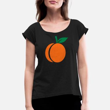 Apricot Apricot - Women's Rolled Sleeve T-Shirt