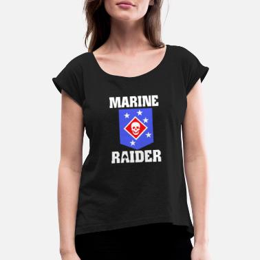 Raider Marine Raiders - Women's Rolled Sleeve T-Shirt