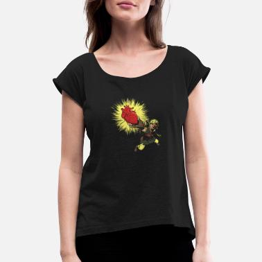 Zombie Link - Women's Rolled Sleeve T-Shirt