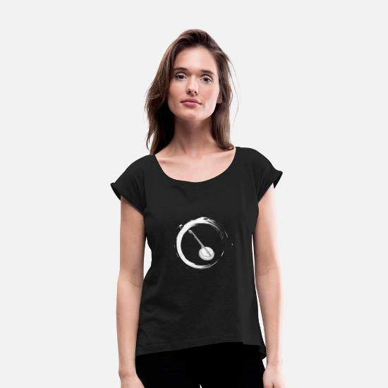 Banjo T-Shirts - Banjo - Women's Rolled Sleeve T-Shirt black