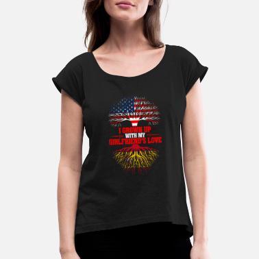 Custom Baby /& Toddler T-Shirt Everyone Loves A Nice Spanish Girl Spain Cotton