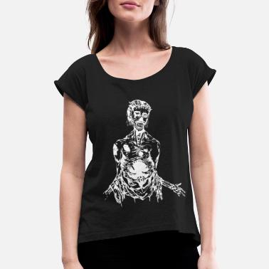 Undead undead - Women's Rolled Sleeve T-Shirt