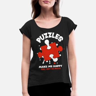 Puzzles Puzzle - Women's Rolled Sleeve T-Shirt