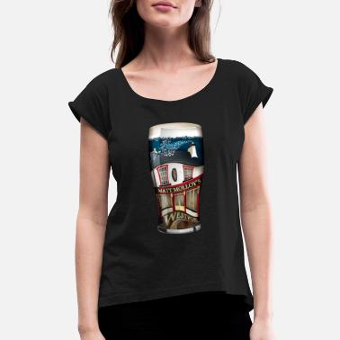 Westport Are you going for a pint? Matt Molloy's Westport - Women's Rolled Sleeve T-Shirt