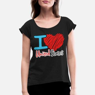 United States United States - Women's Rolled Sleeve T-Shirt