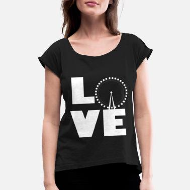 Ferris Wheel Ferris wheel - Women's Rolled Sleeve T-Shirt