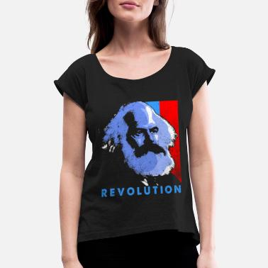 Communism Communism - Women's Rolled Sleeve T-Shirt