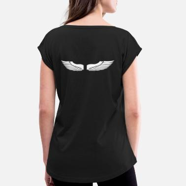 Wing WINGS - Women's Rolled Sleeve T-Shirt