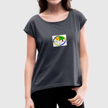 Nondestructive Inspection - Women's Roll Cuff T-Shirt