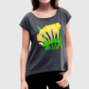 87 87 - Women's Roll Cuff T-Shirt