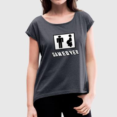 Gameover GAMEOVER - Women's Roll Cuff T-Shirt