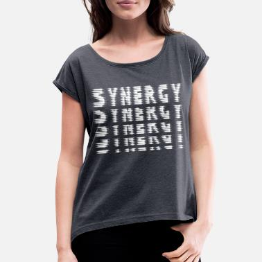 Synergy Synergy - Women's Roll Cuff T-Shirt