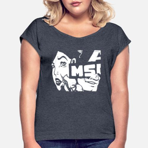 6ff87f11 Wife T-Shirts - Graffiti WoMan Urban Street Style Streetwear Gift - Women's  Rolled Sleeve. Do you want to edit the design?