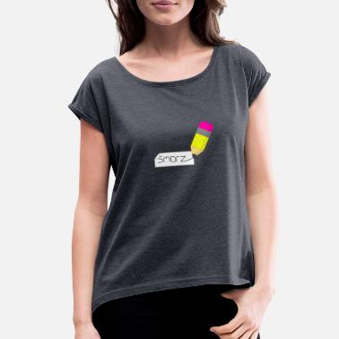 Name Tag Name Name Tag - Women's Roll Cuff T-Shirt