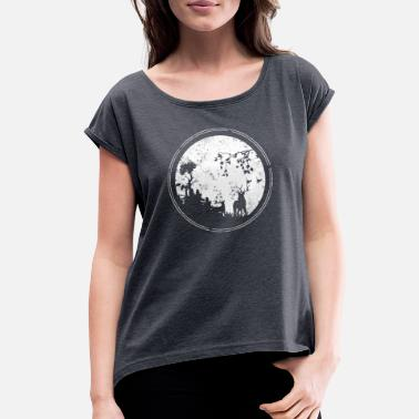 Forest Forest - Women's Rolled Sleeve T-Shirt