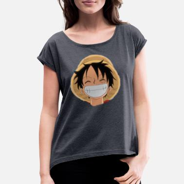 One One piece luffy - Women's Rolled Sleeve T-Shirt