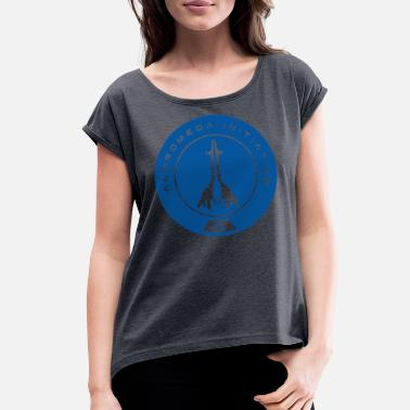 Initial Andromeda Initiative - Women's Rolled Sleeve T-Shirt