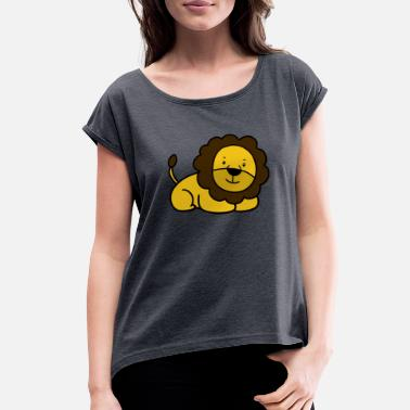 Lion Cub Lion cub - Women's Roll Cuff T-Shirt