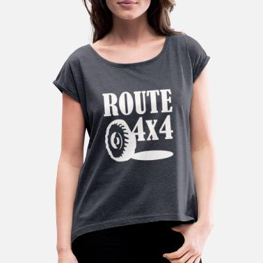 Routes Route 4x4 - Women's Rolled Sleeve T-Shirt