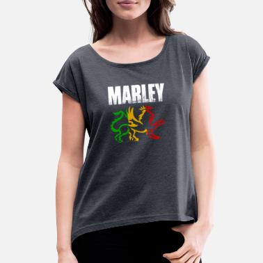 Marley Marley - Women's Rolled Sleeve T-Shirt