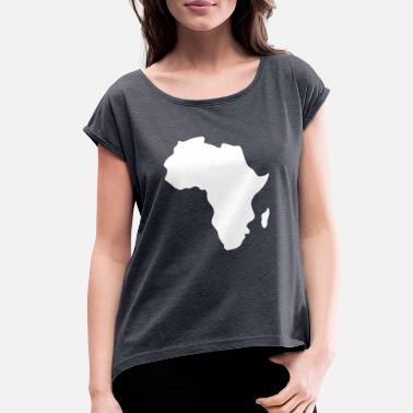 Africa Africa - Women's Rolled Sleeve T-Shirt