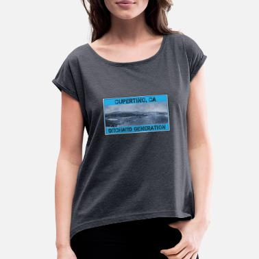 Orchard A Cupertino, CA Orchard Generation - Women's Rolled Sleeve T-Shirt