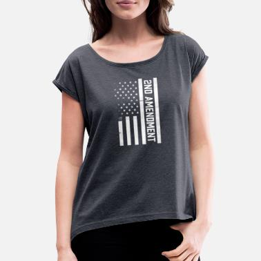 2nd Amendment 2nd Amendment - Women's Rolled Sleeve T-Shirt