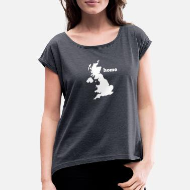 Uk Uk Home - Women's Rolled Sleeve T-Shirt