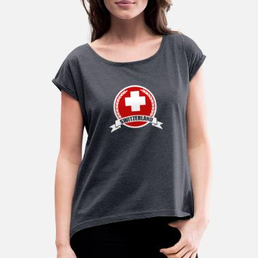 Swiss Cross Swiss Cross - Women's Roll Cuff T-Shirt