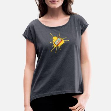 Cassette Cassette - Women's Rolled Sleeve T-Shirt