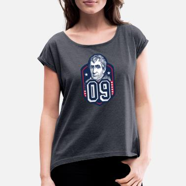 Henry 09 William Henry Harrison - Women's Rolled Sleeve T-Shirt