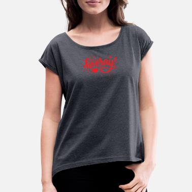 Holidays Holiday - Women's Rolled Sleeve T-Shirt