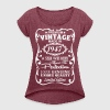 70th Birthday Gift Ideas for Men - Women's Roll Cuff T-Shirt