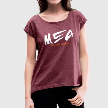 Meat Eaters Anonymous - 2C - Women's Roll Cuff T-Shirt