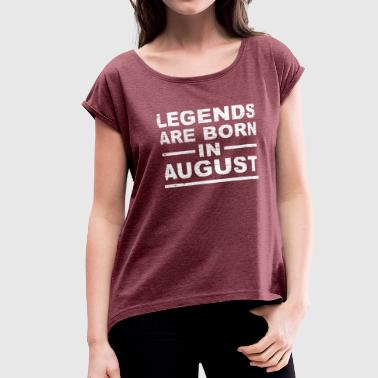 Léo Legends August - Women's Roll Cuff T-Shirt