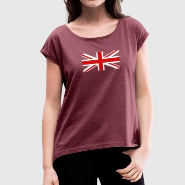 Trending New Q340 New Trend - Women's Roll Cuff T-Shirt