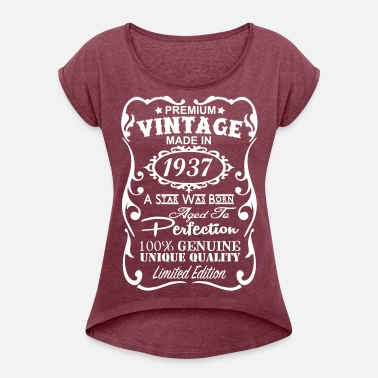 Womens Rolled Sleeve T Shirt