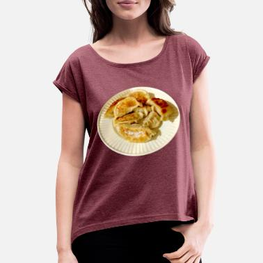Dumplings Dumplings - Women's Rolled Sleeve T-Shirt