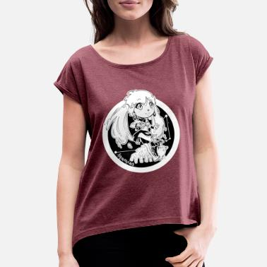 Communism Aquarius Original Zodiac Sign - Women's Rolled Sleeve T-Shirt