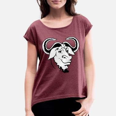 Ox Ox Comic - Women's Rolled Sleeve T-Shirt